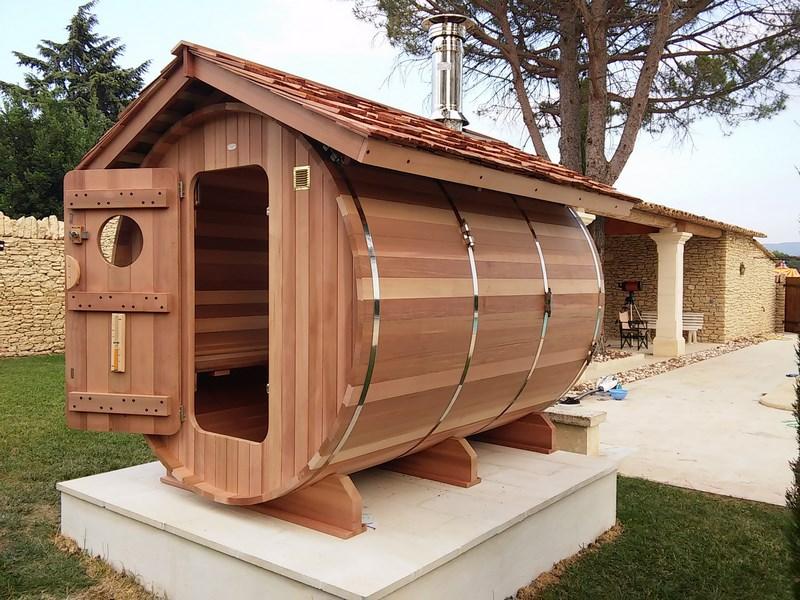 Sauna En Bois Haut De Gamme Et Fabriqu En France  OBiozz